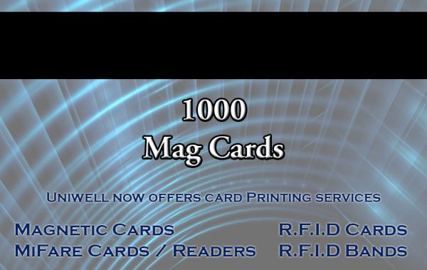 1000 magnetic cards