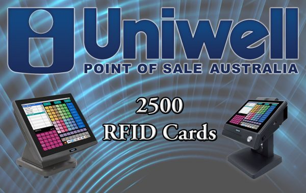 2500 RFID card front