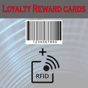 barcoded and rfid card
