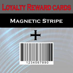 magnetic and barcode card