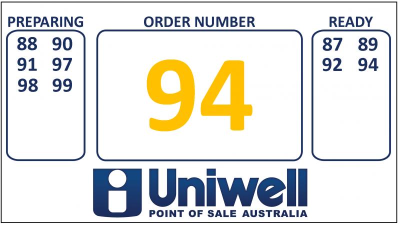 Order Number Demo Numbers
